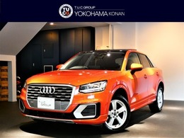 アウディ Q2 30 TFSI スポーツ ACC/サイドA 黒革 サンR VコックP 新車保証