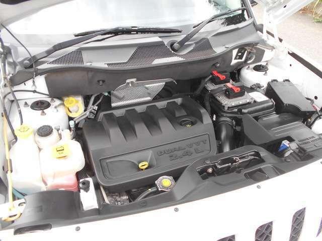 パワフルで燃費も良い2400ccエンジン