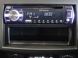 CDラジオが付いています。別途費用にて、お客様のお好みの「ナビゲーション」や「オーディオ機器」をお取付け頂けますので、スタッフにお気軽にご相談下さい♪