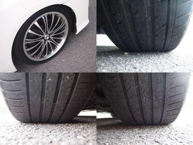 19インチアルミ付。。。タイヤの残り溝もバッチリ♪♪♪