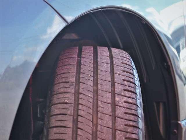 タイヤの山も8分山以上!安心の国産タイヤで楽しくドライブして下さい★
