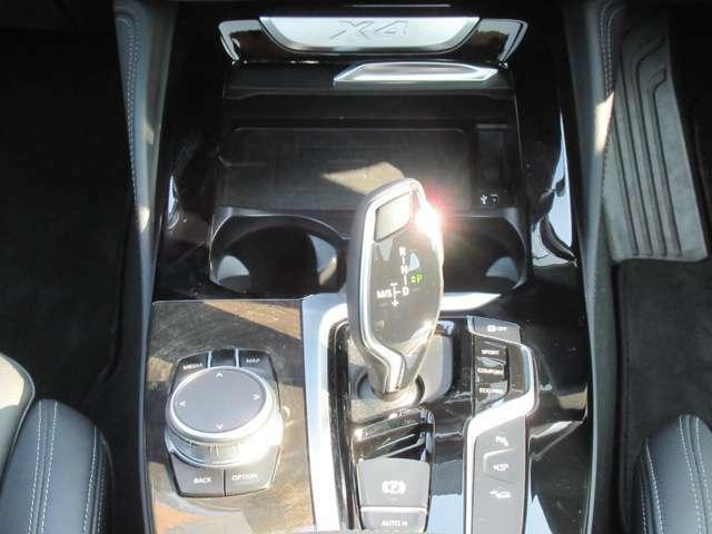 8AT(MTモード) ドライブモード切替スイッチ iDriveコントローラー PDC HDC 電子パーキングブレーキ ワイヤレス・チャージング(Qi規格)