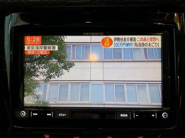 純正ナビ&フルセグTV付き!