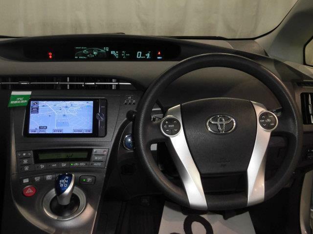 ドライバー目線の画像です。視界も確保されているので、見やすいですよ。