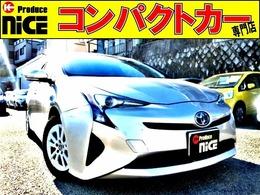 トヨタ プリウス 1.8 S 8型メモリーナビ・Bluetooth・安全ブレーキ