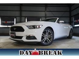 フォード マスタングコンバーチブル エコブーストプレミアム CARFAX有 シートヒーター シートエアコン