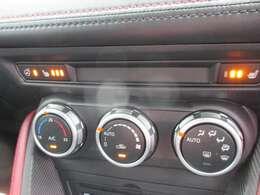 簡単操作のオートエアコン。シートヒーター&ハンドルヒーター付きです。