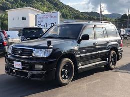 トヨタ ランドクルーザー100 4.7 VXリミテッド Gセレクション 4WD 本革 サンルーフ エアロ ヒッチメンバー