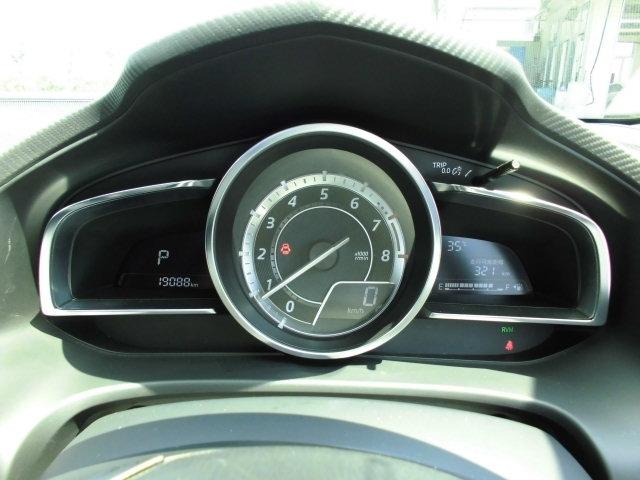 大きく見やすいスピードメーターです。視線の移動が少なく安心安全☆