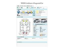 第三者評価機関「AIS社」の車両検査済み!総合評価4.5点(評価点はAISによるS~Rの評価で令和3年4月現在のものです)☆お問合せ番号は41031548です♪