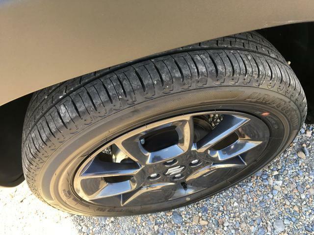 タイヤ残り溝まだまだ問題なし♪