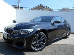 BMW 3シリーズ M340i xドライブ 4WD 19AWハ-マンカ-ドン黒革ドラレコ禁煙認定車