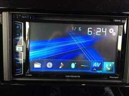 パイオニア製のオーディオユニットを装着しています。AM・FMラジオやCD、Bluetoothなど、多彩な機能が使用可能です♪★♪★♪★