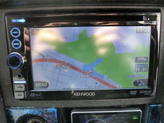 ケンウッド Bluetooth付き・フルセグTV
