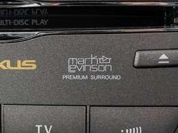 稀少マークレビンソン付き!世界指折りの音響メーカーが作り上げた音響システムは必聴です!