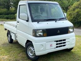三菱 ミニキャブトラック 660 VX-SE エアコン付 4WD メッキバイザー 4WD パワステ