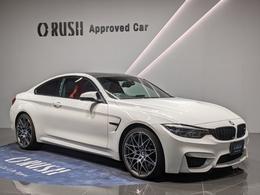 BMW M4クーペ コンペティション M DCT ドライブロジック アクティブサス ACC 20インチ鍛造AW