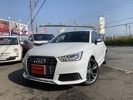 アウディ S1スポーツバック 2.0 4WD 6M/T 純ナビ ドラレコ ユーザー買取車