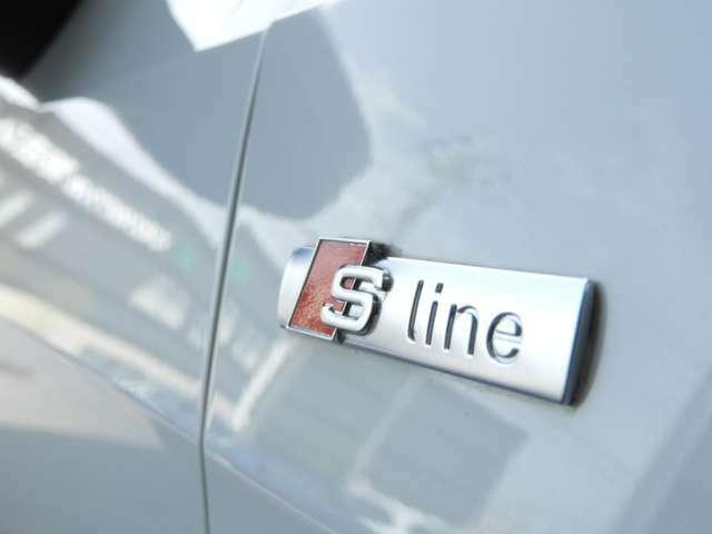【S-Lineパッケージ】 スポーツサスペンション・専用アルミホイール・専用ステアリング・専用レザースポーツシート・専用スカッフプレート装備。専用エクステリア・のスポーツパッケージです。