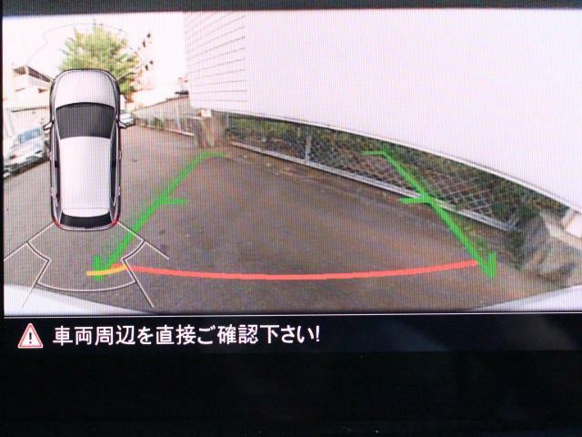 前後パーキングセンサー&リアビューカメラで、車庫入れも安心です。パーキングセンサーは音だけでなくモニターで接近情報を確認出来てより安心です。