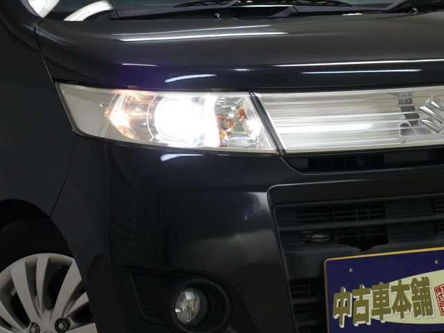 ☆ HIDライトで夜間の運転も明るいです! ☆