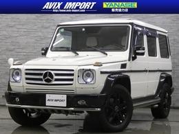 メルセデス・ベンツ Gクラス G550 ロング エディションセレクト 4WD 1オナ SR designo白革TV Bカメ エグゾ-スト