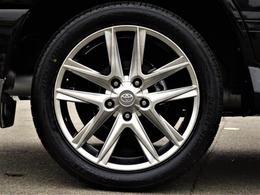 LX570仕様22inchホイールに、タイヤは今回新品装着!!