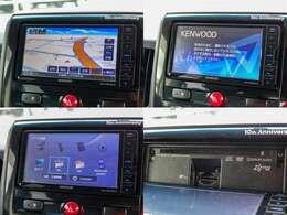 KENWOOD製Bluetooth対応フルセグメモリーナビ『MDV-D504BTW』付きです
