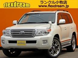 トヨタ ランドクルーザー200 4.6 AX Gセレクション 4WD ブラックレザーシート