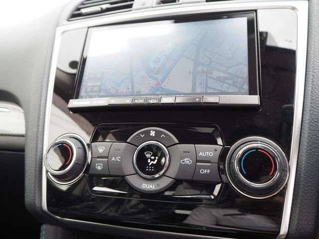 オートエアコンで車内の空調も快適です