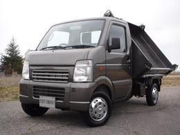 スズキ キャリイ 4WD三方開き 軽三転ダンプ(5速・AC・PS付)