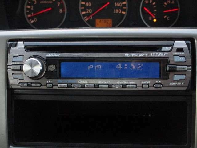 社外CDチューナー搭載です!!