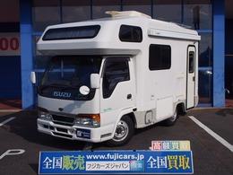 いすゞ エルフ ヨコハマモーターセールス オックス 4WD FFヒーター ルーフエアコン Nox・PM適合