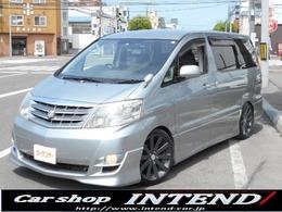 トヨタ アルファード 2.4 V AS 4WD 後期/車高調/19AW/HDD/エアロ/両Pスラ
