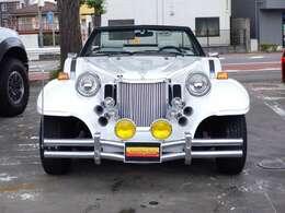 古きよき時代のアメリカ製大型スポーツカーや、ベンツSSKなどをモチーフに作られた車です。