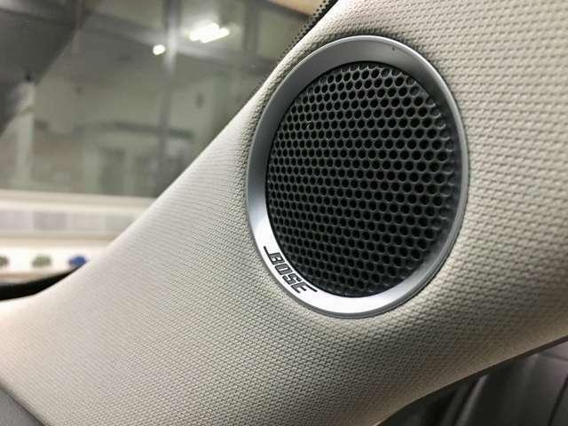 Aプラン画像:音質は車内空間やシートの位置、材質によって変化します。Bose社との共同開発によって音の立体感や明瞭度をより際立たせた質感高いサウンドを実現♪臨場感のあるサウンドでついドライブに出かけてしまいますね♪