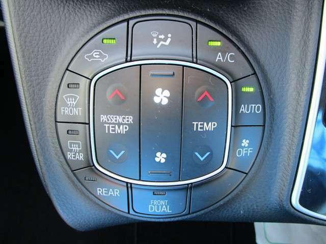 ★オートエアコン装備★オートエアコンは設定温度を合わせるだけで自動で快適な空間にしてくれます。日差しの強い日も雨の日も室内は常に快適ですね!