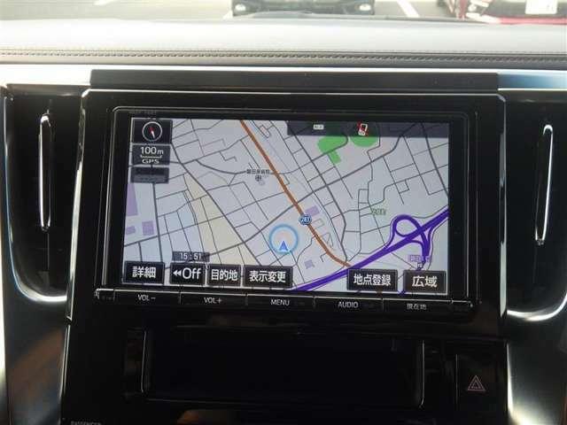 純正TCナビ+フルセグTV+バックモニター+ETC2.0付きです!初めての道も迷いにくく、ロングドライブも快適ですよ♪
