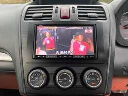 テレビ付きナビ♪USBでスマートフォンやミュージックプレーヤーと接続可能です。便利なフルオートエアコン!