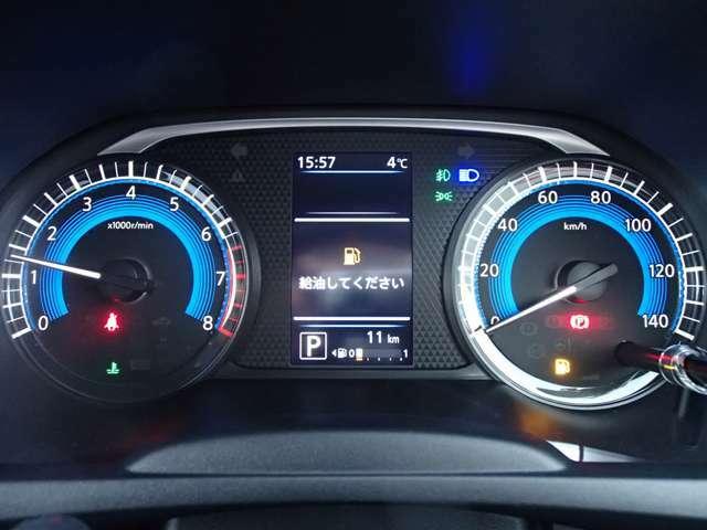 ★見やすくて機能的。エコドライブをサポートするファインビジョンメーターです。