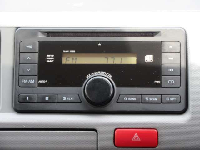 CD再生可能。ラジオもOK!