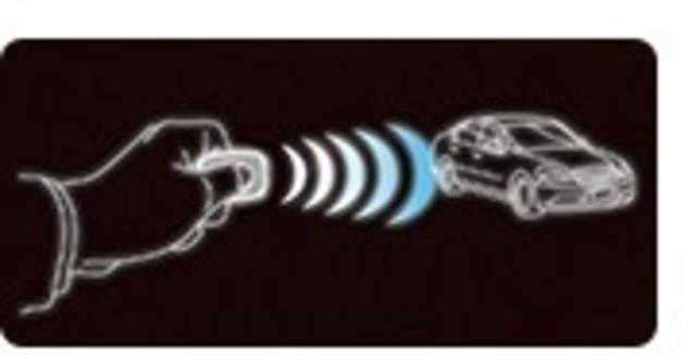 Bプラン画像:愛車の純正キーレスリモコンでセキュリティーを操作。セキュリティー専用のリモコンは不要。ユピテル独自のシステムが利便性と防犯性の両立を実現。