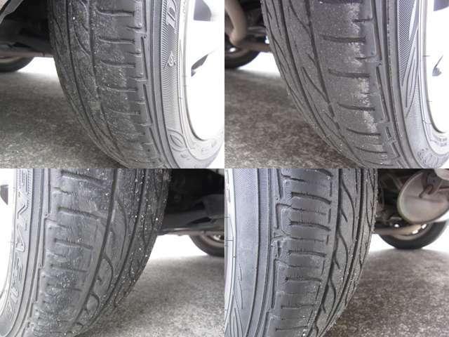 車検整備時に新品タイヤに交換致します!!