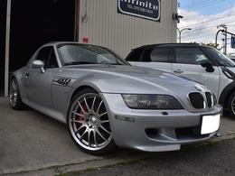 BMW Z3 Mロードスター 3.2 赤黒革ハードトップブレンボ車高調19AW