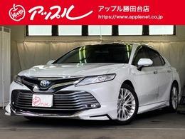トヨタ カムリ 2.5 G レザーパッケージ ムーンルーフ/モデリスタエアロ/黒革/
