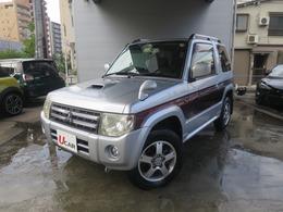 三菱 パジェロミニ 660 エクシード 4WD SDナビゲーション地デジ禁煙車1オーナー