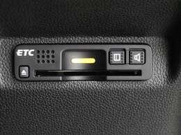 『ETC』が付いています。カードを差し込めば高速道路もスムーズに利用できます♪