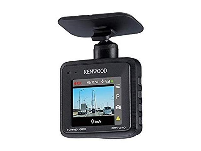 Aプラン画像:ケンウッド製 ドライブレコーダー 「DRV-340」 コンパクト&高性能なスタンダードモデル 部品・取付工賃含みます ※車両によっては、別途パーツが必要なケースがございます。