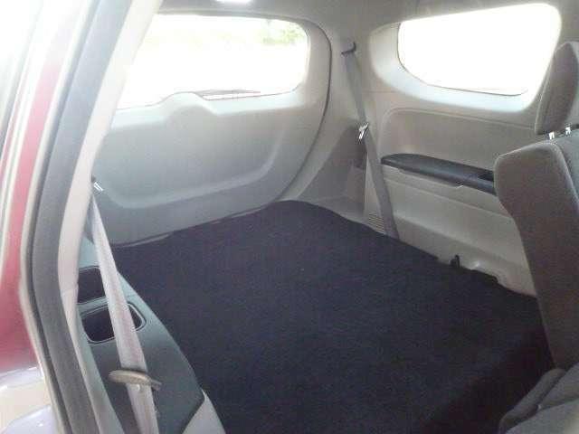 サードシートは格納している状態です!