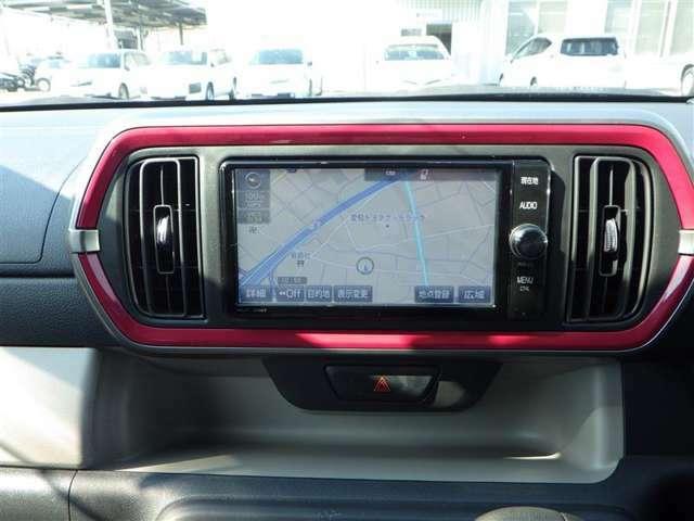 トヨタ純正フルセグナビ!Bluetooth機能搭載モデルです!
